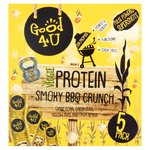 Good4u Veggie Protein Smoky BBQ Crunch Multipack