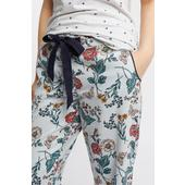 FatFace Floral Butterfly Classic Pants, Chambray