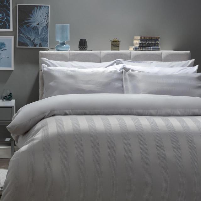 Belledorm Newbury Cotton Rich, Double Bed Set, Cloud From Ocado