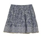 FatFace, Mix And Match Print Skirt, Navy