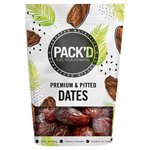 PACK'D Rich & Succulent Pitted Sukkary Dates Frozen