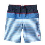 FatFace, Stripe Boardies, Marine Blue