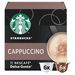 STARBUCKS Cappuccino Coffee Pods by NESCAFE Dolce Gusto