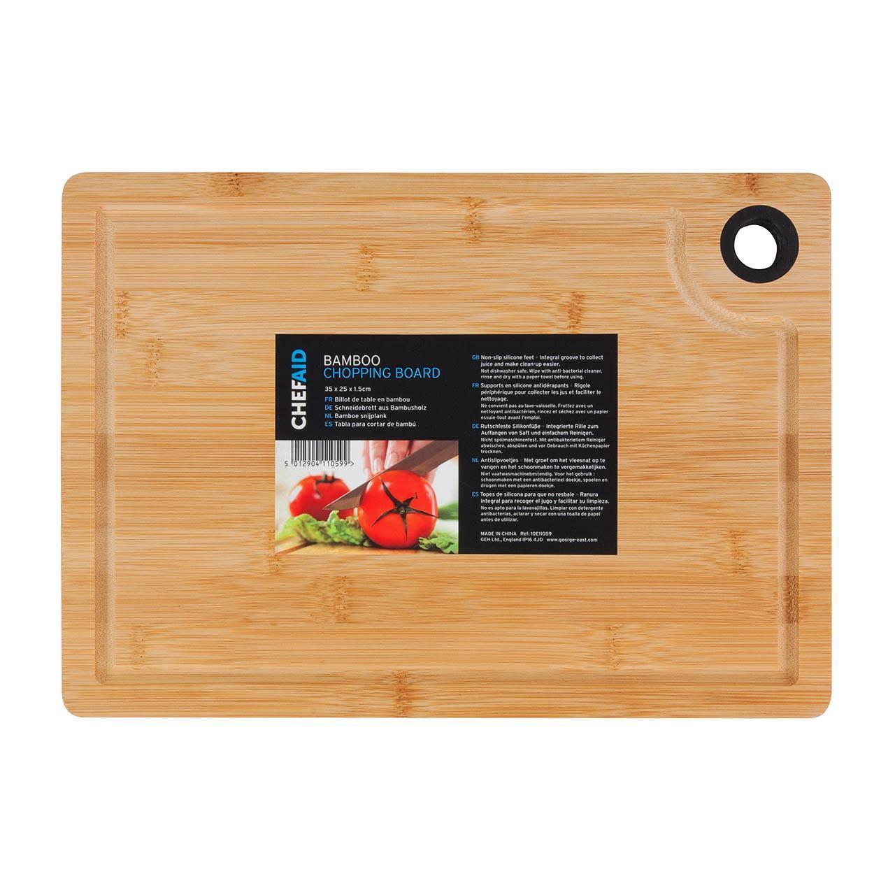 Wandplank Met La.Chef Aid Bamboo Board W25cm X Dobbies