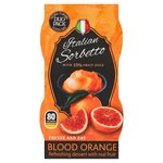 Italian Sorbetto Blood Orange Flavour
