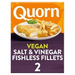 Quorn Fishless Fillets Salt and Vinegar