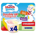 Munch Bunch Double Up Fromage Frais Strawberry & Banana