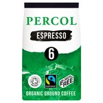 Percol Intense Espresso Organic Ground Coffee