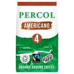 Percol Rich Americano Organic Ground Coffee