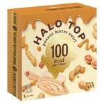 Halo Top Peanut Butter Swirl Low Calorie Sticks