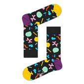 Happy Socks Womens Assorted Socks, Size 3.5 - 6.5 Singing Birthday Gift Box