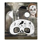 Children's Skull Mask & Make-Up Kit