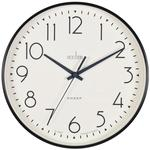 Acctim Earl Sweep Wall Clock, Black