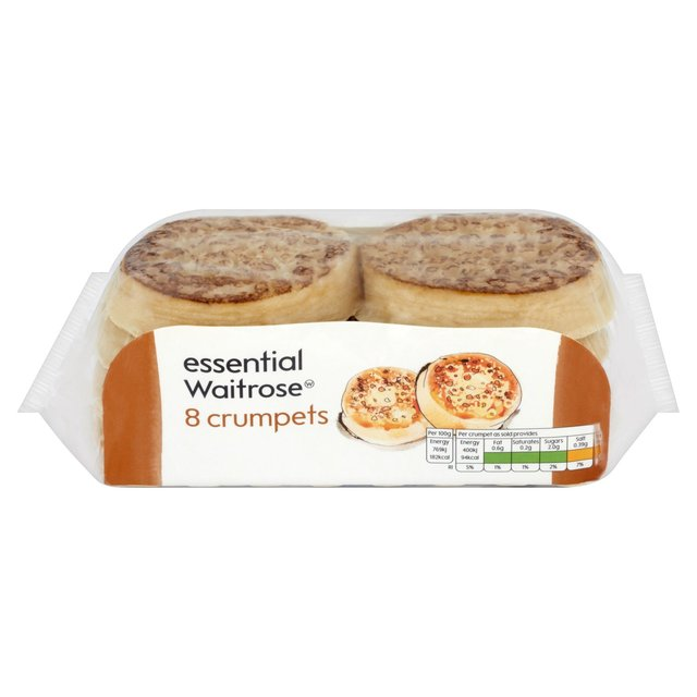 Crumpets essential Waitrose