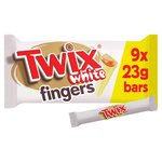Twix 9 White Chocolate Biscuits