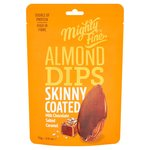 Mighty Fine Salted Caramel Almond Dips