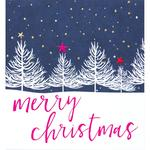 Caroline Gardner White Trees Christmas Cards