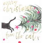Caroline Gardner From The Cat Christmas Card