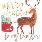 Caroline Gardner Brother Christmas Card