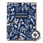 Winter Garden Season's Greetings Christmas Card