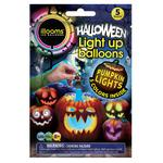 Light Up Pumpkin Balloons