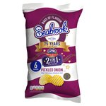 Seabrook Crinkle Cut Pickled Onion Crisps