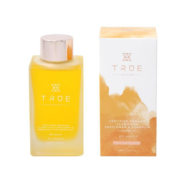 True Skincare Organic Cleansing Oil, Safflower & Geranium