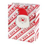 Santa with Giant Tag Gift Bag, Large