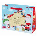 Tom Smith Santa & Friends Gift Bag, Large