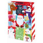 Tom Smith Santa & Friends Gift Bag, Extra Large