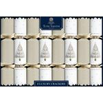Tom Smith Luxury Gold & White Christmas Crackers