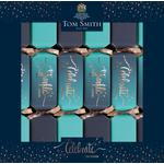 Tom Smith Party Blue Christmas Crackers