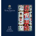 Tom Smith Nutcracker Red & White Christmas Crackers