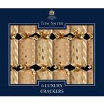 Tom Smith Mini Luxury Gold Christmas Crackers