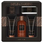 Baylis & Harding Men's Black Pepper & Ginseng 5 Piece Tin