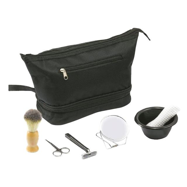 All About Men 7 Piece Travel Shaving Kit