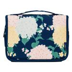 Hydrangea Polka Dot Travel Bag