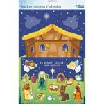 Nativity Sticker Advent Calendar