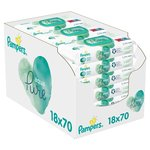 Pampers Aqua Pure 1260 Baby Wipes