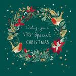 Festive Joy Christmas Card