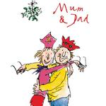 Quentin Blake Mum & Dad Card