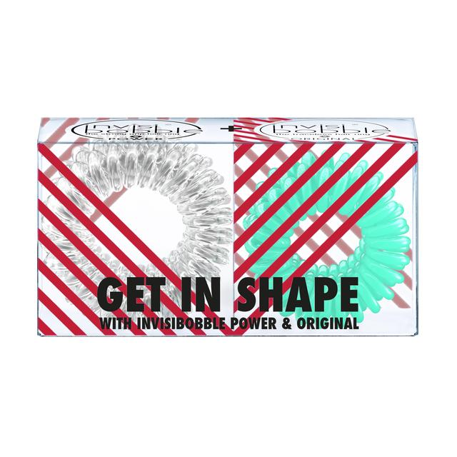 Invisibobble Get in Shape Duo Pack Hair Ties
