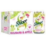 Shloer Pressed Rhubarb & Apple Sparkling Juice Drink