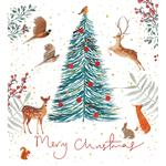 Animal Gathering Charity Pack Of Christmas Cards