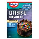 Dr. Oetker Coloured Chocolate Letters & Numbers