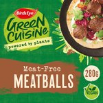 Birds Eye Green Cuisine Meat Free Swedish Style Balls Frozen