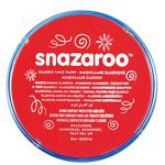 Snazaroo Classic Face Paint, Bright Red