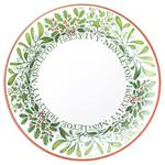 White Berries Large Dinner Plate