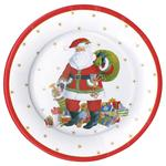 Santa Claus Lane Large Dinner Plate