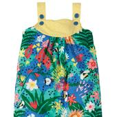 Frugi Organic Dungaree in Floral Design